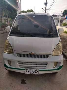 Vendo Vans chevrolet N300 7 Pasajeros Incluye Conductor