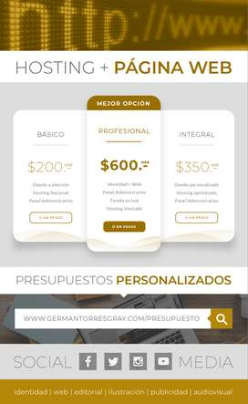 Diseño Web & Community Management