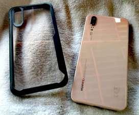 Vendo / Remato Huawei P20 LEICA 128GB 9.5/10 Full Accesorios, 2 Case Anticaidas y Mica de Vidrio 3D