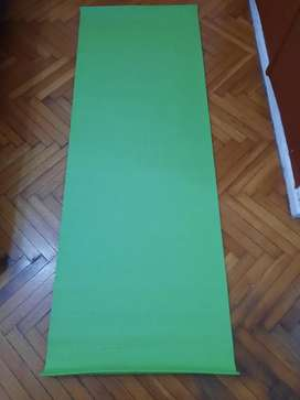 Colchoneta Mat De Yoga Pilates Fitness Enrollable De 6 Mm