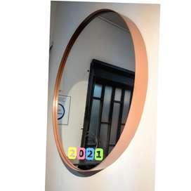 Espejos marco metal