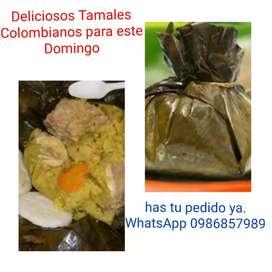 Deliciosos Tamales Colombianos
