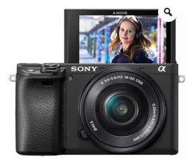 Camara sony a6400 + lente 16 50 mm