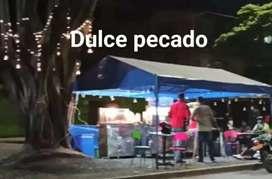 Negocio de comidas rapidas asador carro hambuerguezas carro salchipapa asador