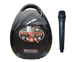 Parlante Bluetooth Recargable 5 600w + Microfono Fm Usb