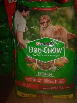 Dog chow adultos mediano/grande