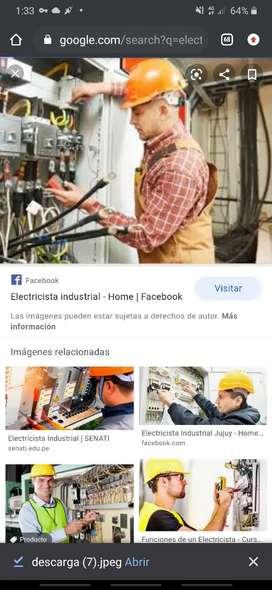 Se solicita técnico electricista Industrial