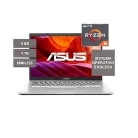 Portatil Asus M415DA-EK365 AMD Ryzen 5 3500U 4GB RAM 1TB Disco Sistema Operativo Endless. Compra nuevo en Korolos !!