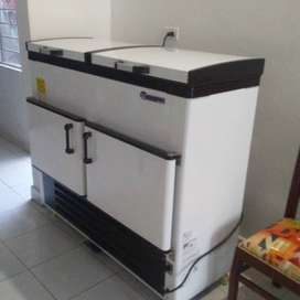 Maquina cubetera para hacer hielo