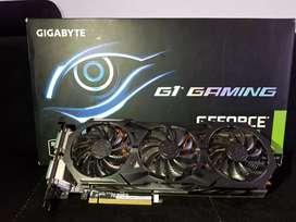 Tarjeta grafica nvidia gtx 960 4gb triple fan para pc gamer