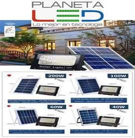 Reflector Led Panel Solar 20w 40w 60w 100w 200w+control