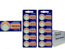 Sony Pila Cr1616 Litio 3v Usd 2.00 X 1u