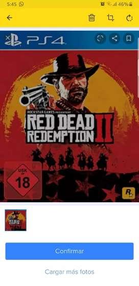 Juego ps4 red dead redeption 2 fisico
