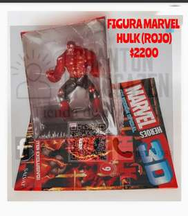 Figura Marvel Hulk (rojo)