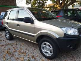 Ford Ecosport XLS 1.6 4x2 2009 a nafta. Con 120,000 kms y color champagne