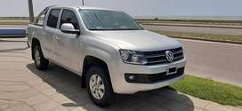 VW AMAROK 2.0 TD 4X2 - 2014 TRENDLINE 180 HP * VENDO- PERMUTO *