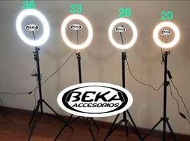 Aros de luz 36cm  33cm  26cm 20 cm