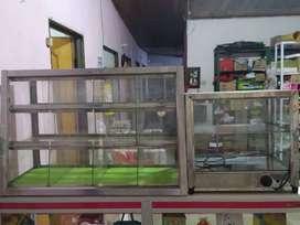 Vendo vitrina bombonera y Vitrina calentadora