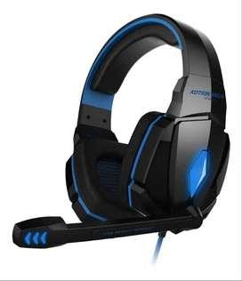 Audifono Diadema Gamer Kotion Each G4000 Microfono Y Leds_ref:01