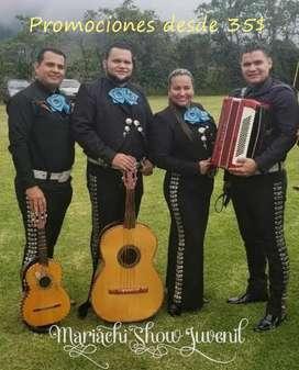Mariachis en La Nueva Aurora