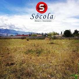 Vendo terreno de 3500 m2 en Natabuela,  ideal para proyecto Hotelero o Conjunto Habitacional