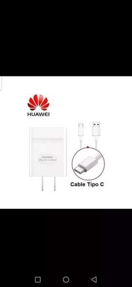 Cargadores Huawei tipo c