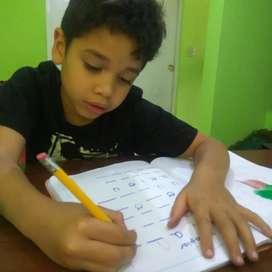 Terapias de Aprendizaje, lenguaje y atencion y concentración,  Psicomotricidad y evaluación diagnóstica