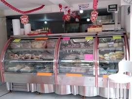 Máquinas y vitrinas para carnicería