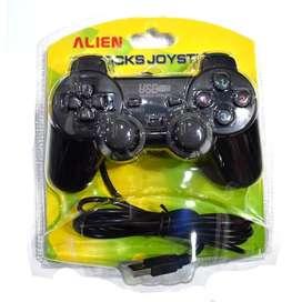 Joysting de PC, con cable. se puede utilizar tambien en la PS3 . Garantía. envios! Lo pagas cuando lo recibis!. Consulta