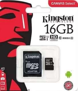 Micro SD de 16 GB