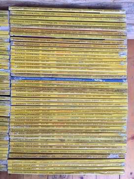 Colección Revistas National Geographic 87 Edición En Inglés