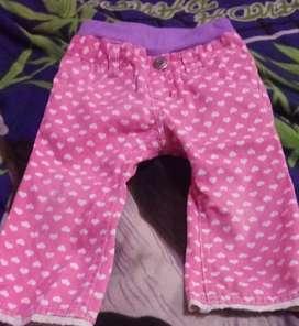 12 pantaloncitos para nena T d 1 a 2 añitos