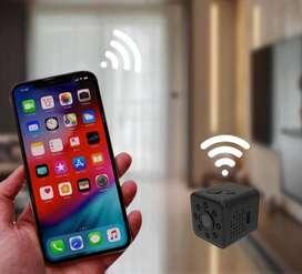Mini Cámara Wifi IP 24 horas Monitoreo en Tiempo Real + Soportes