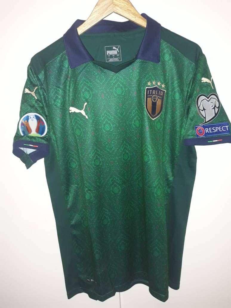 Camiseta selección Italia verde 2020 Eurocopa 0