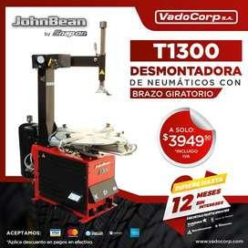 DESMONTADORA DE NEUMÁTICOS T1300 CON BRAZO GIRATORIO JOHN BEAN