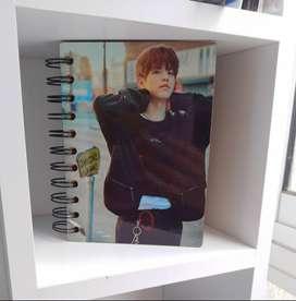 Mini libretas Kpop