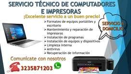 reparacion de impresoras y computadores