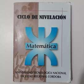 Ciclo de Nivelación Matemática, libro UTN Cordoba