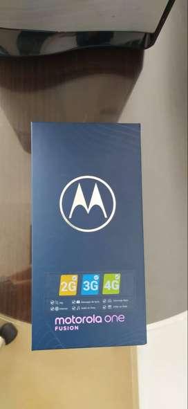 Vendo Motorola One Fucion de 128 gigas