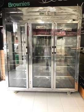 Vitrina para refrigeracion y congelacion