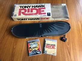 Tony Hawk Ride ps3 Patineta