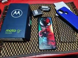 Vendo solo vendo Moto G9 Power libre impecable 128/4