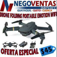 DRONE FOLDING PORTABLE EMOTION WIFI EXCLUSIVAMENTE EN DESCUENTO SOLO EN NEGOVENTAS