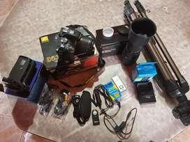 Nikon d5300 más accesorios