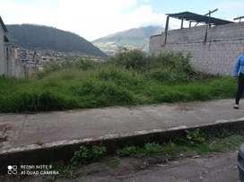 De oportunidad  se  vende hermoso terreno en la ciudadela 4ta etapa Otavalo