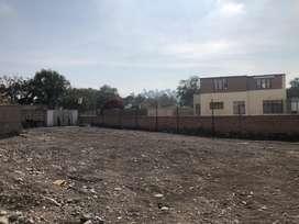 Vendo Terreno en Zona Exclusiva de Yanahuara de 1100 m² Completamente Saneado.