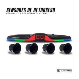 Sensores de Retroceso para Auto | Básicos | Tipo Original | AV | OZ Tunning