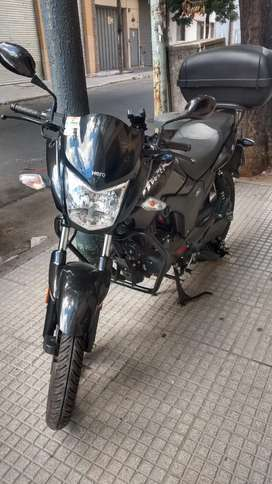 Vendo moto Hero Hunk