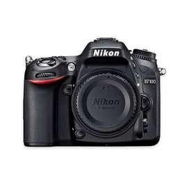 Camara Nikon D 7100 usada