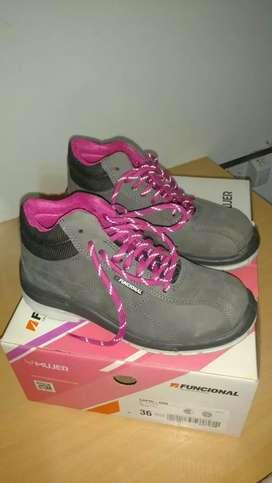 Zapatos de seguridad mujer t 36